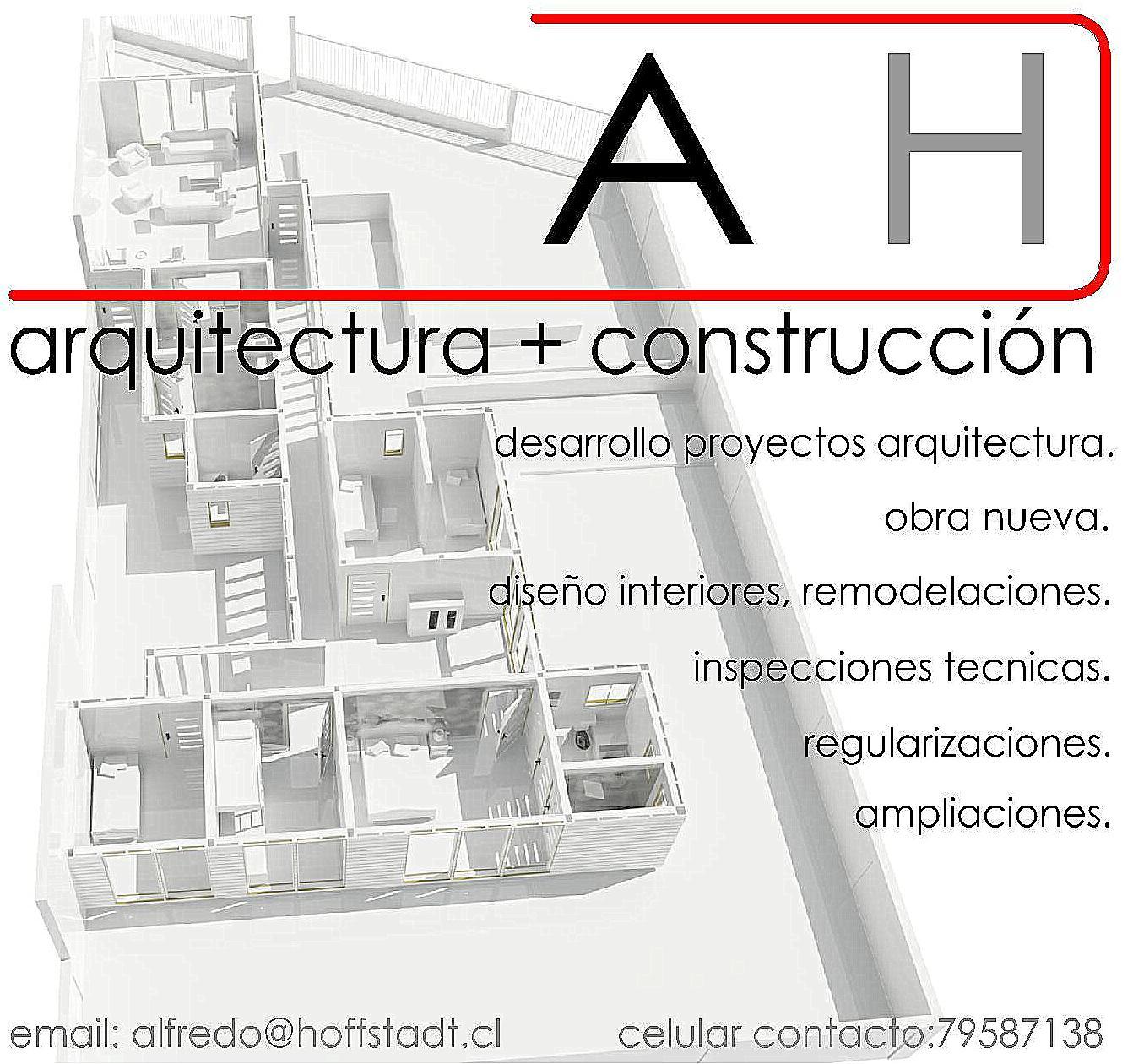 a h arquitectura construccion alfredo hoffstadt